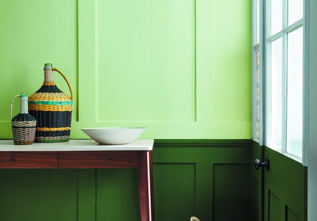 Little Greene 2018 Green Colourcard 22