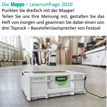 Mappe Leserumfrage
